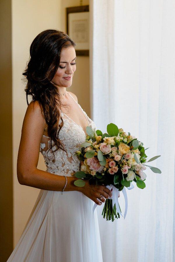 bouquet sposa elegante